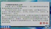 个税税率结构怎么调 110616 北京您早