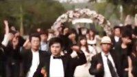 挑战威廉王子世纪婚礼,福州富二代惊现快闪婚礼!