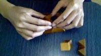 3D wooden puzzle 3D金字塔摆拼方法揭秘千域千予制作