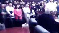 著名经济学家张五常在华中科技大学的讲座