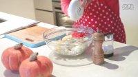 美味南瓜饭盅-高清视频