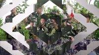 武警四川总队广元市支队一中队退伍留念摘去领花的那一刻
