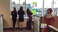 两家公司办公楼上演8位游戏贴图对决