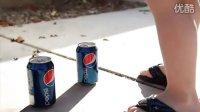 搞笑广告!可口可乐VS百事可乐