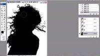 [PS]PS教程【选取卷曲长发】Photoshop教程 Photoshop抠图 SP入门
