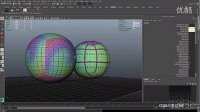 凌动网上传 multi-tile UV texture mapping in Maya.