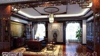 岳阳公装中式办公室装修效果图—紫云轩中式设计机构