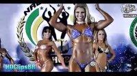 巴西女子健美大赛 美女性感-