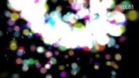 高清动态粒子片头视频素材