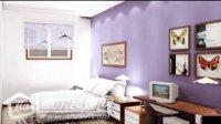 时尚简约卧室装修图片 卓尔装修网出品