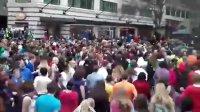 Glee Flash Mob Westlake Center Seattle