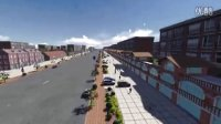 宝龙山镇道路绿化设计动画