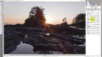 [PS]摄资讯之【后期制作】:用Photoshop处理落日风景照片