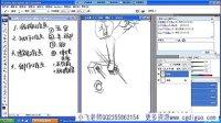 美术教程漫画教程原画视频教程PS绘画基础教程-人体结构的难点
