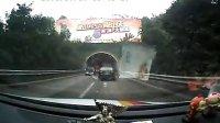 视频: 大众CC高速隧道内追尾