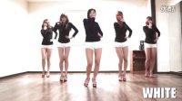 韩国性感舞团White 模仿 AOA 动摇 火辣热舞