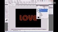 LOVElogo字体ps设计视频教程