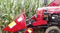时风4YW-2小型玉米收割机演示视频
