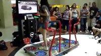 巴西美女跳舞机玩曳步舞  高清版!-宅男曳步舞  鬼步舞  街舞- 超级滑步