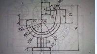 AutoCAD机械制图习题精简3-16