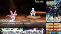 3DS《口袋妖怪 XY》高清通关录像【77 Mewtwo and Mega Mewtwo X】
