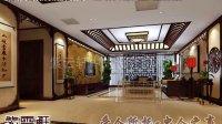 新中式别墅客厅装修效果图—紫云轩中式设计机构