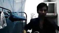 光辉岁月 吉他弹唱 宿舍的我 beyond 黄家驹 翻唱 有点像家驹吧.flv