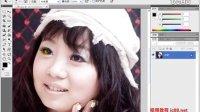 ps cs5视频教程8.10 打造一双明亮的眼睛.flv