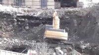 凯斯Case CX290挖掘机在工作中