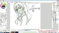 日韩插画头像五官篇- 名动漫CG原画插画3D模型UI绘画教程