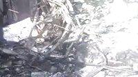 山东莒县移门头火灾过后,价格50万物品全部损坏