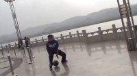 大学生河曲县支教之西口古渡练练球