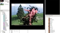范例 粒子化效果 - 动态背景图档