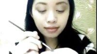 大美女Michelle Phan 教你戴眼镜怎么化妆 学生妆 日妆
