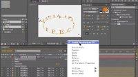 ae视频教程 04-3文字的三维属性 ae教程 ae特效 ae模板 ae视频