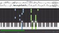 光良-第一次-钢琴键位演示