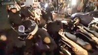 2011.10.6晚在华尔街水牛附近警察再次与示威者发生冲突