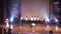 """天津商业大学第八届宿舍文化节决赛艺术设计学院""""Top Back""""街舞——《穿越古今》"""