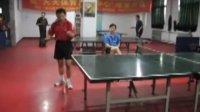 博乒乓唐山代鸣山李晓红4进2比赛片断(第一局)