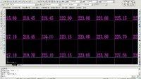 阵列土方计算软件HTCAD V9.0演示—采集线交叉点标高