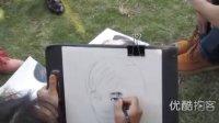 【拍客】铅笔素描胜似高清相机相片