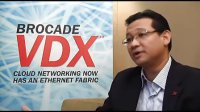 1:1 with Gerald Penaflor on Brocade's latest VDX f