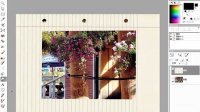 Corel_PaintShop_Photo_Pro_X3中文视频教程  畫框與印章筆刷
