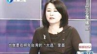 宋楚瑜,不归路,东南卫视,海峡新干线,王鸿薇,111101,联署书