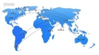 世界地图动画展示  AE 模板