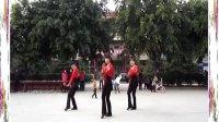36绿蕾丝广场舞 健身舞 爱拼才会赢