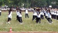 校园兔子舞比赛