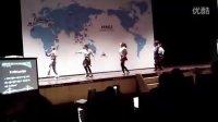 韩南大学中秋晚会日本美女热舞