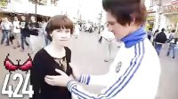 俄罗斯小伙为与普金握手,当街狂摸1000位女性胸部!