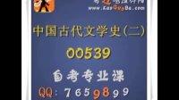 自考课程 00536 古代汉语 汉语言文学(专科) 精讲